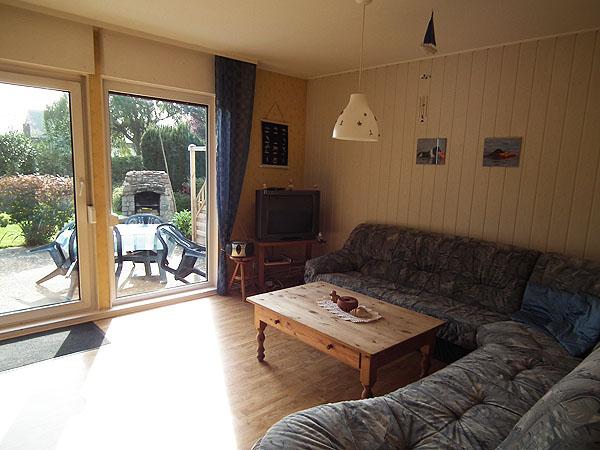 Ferienhaus Fehmarn Wohnzimmer